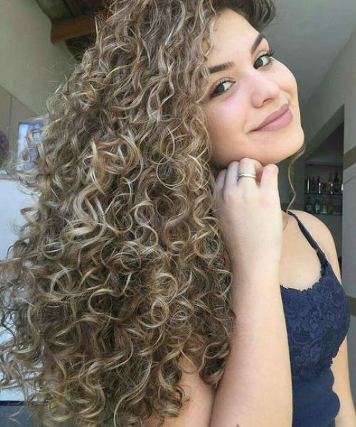 Freaking Long Curly Hairstyles 2020 For Girls To Look Trendy And Gorgeous In 2020 Long Hair Perm Spiral Perm Long Hair Permed Hairstyles
