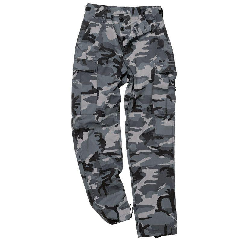 bcafa354bd14b4 Mil-Tec BDU US Ranger Combat Trousers Dark Camo | Army Surplus | Prepping  UK | Military Outdoor