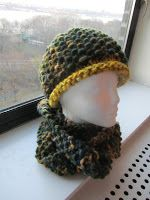 Purls of Wall Street: FAST EASY and Lovely-Cowl(super long) and Hat Pattern-----Europe?