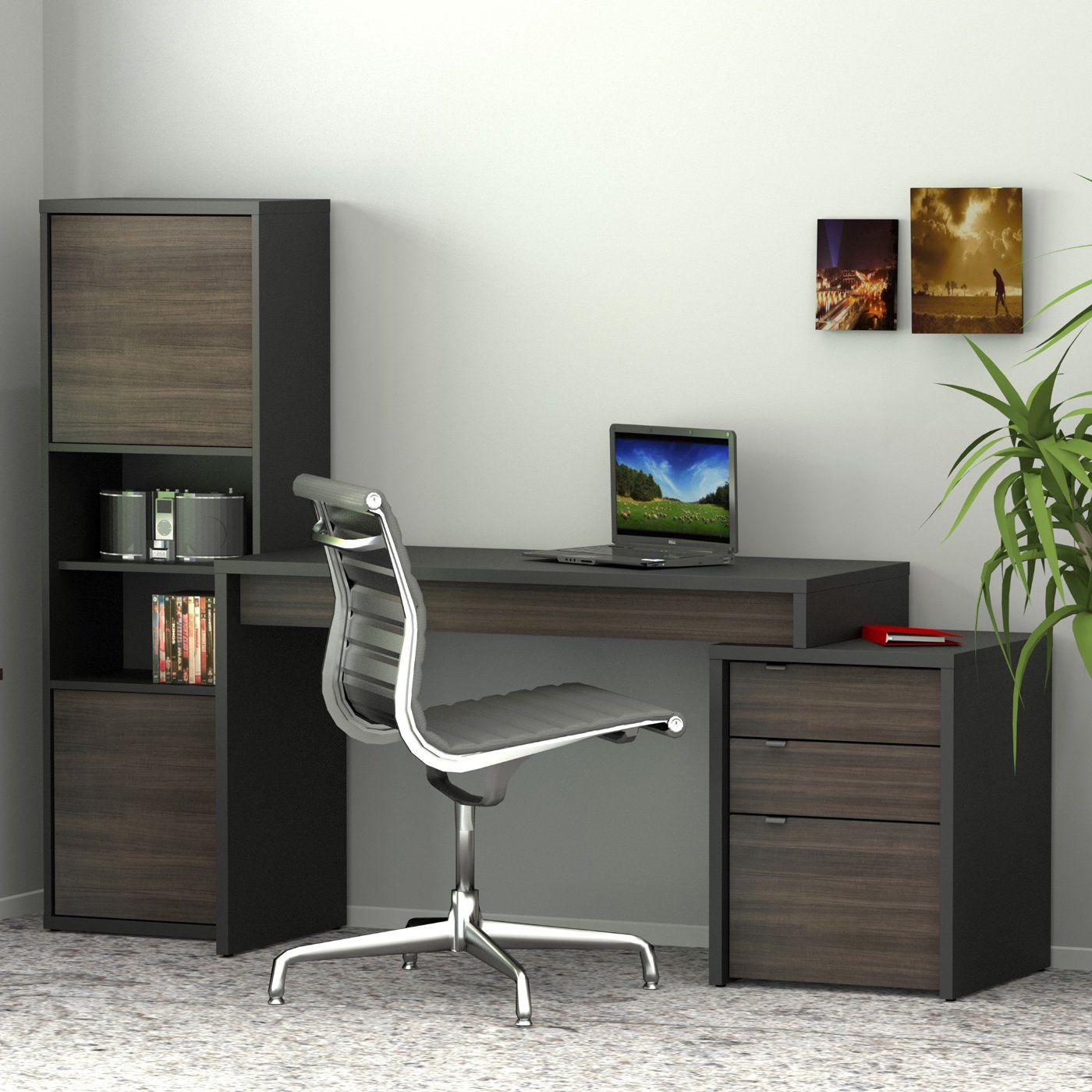 Shop Nexera 400468 Sereni T Home Office Set At Loweu0027s Canada. Find Our  Selection Of Home Office Furniture Sets U0026 Suites At The Lowest Price  Guaranteed With ...