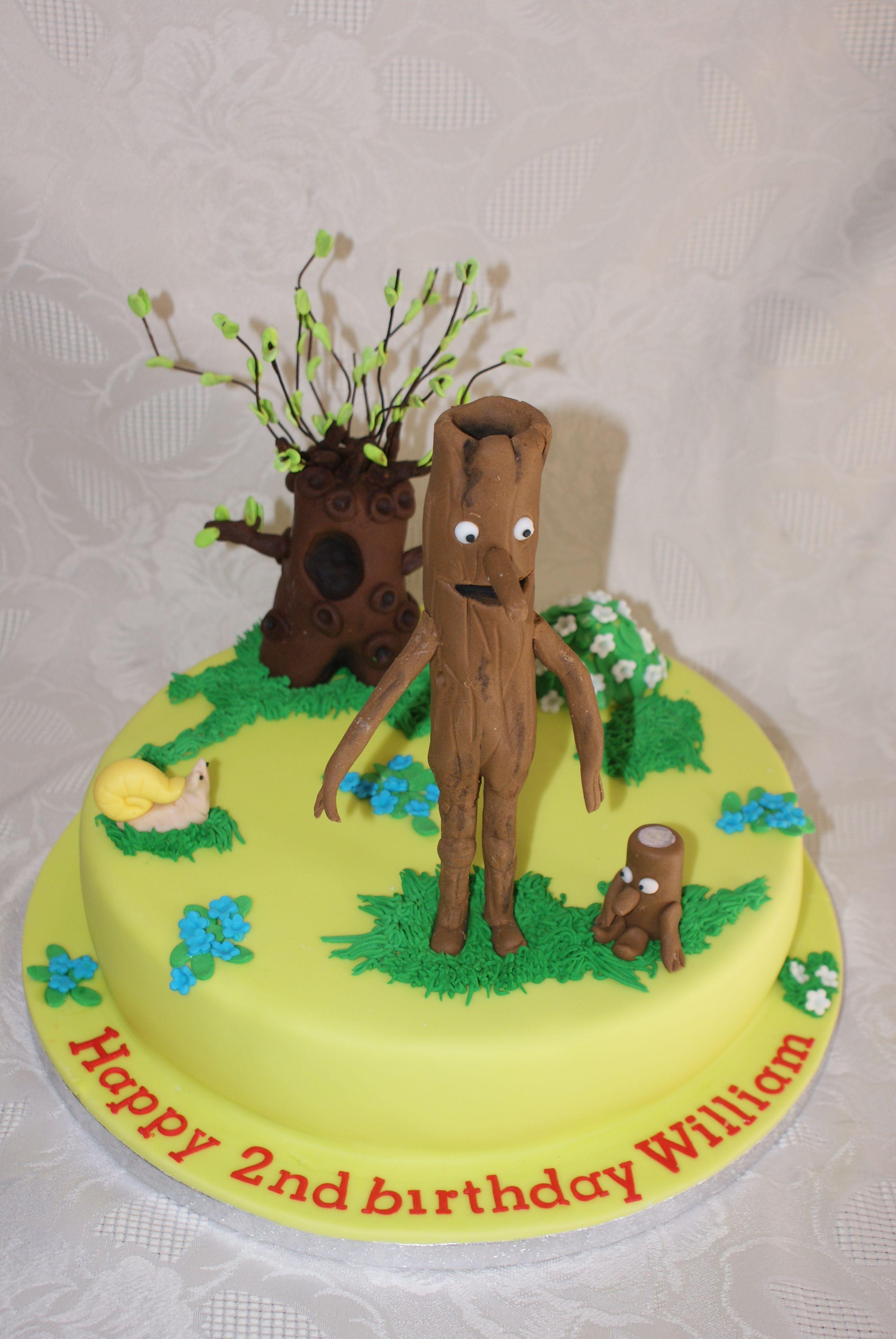 Stickman and the family tree cake | Etties birthday ideas ...