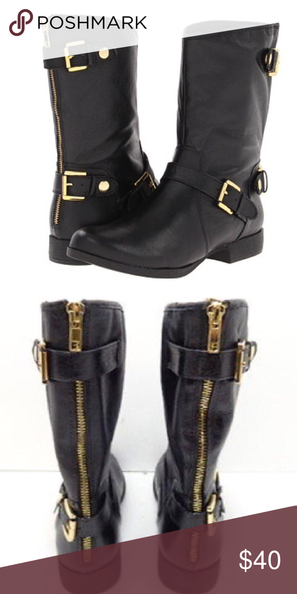 3d5d974ad32 Steve Madden Shoes | Steve Madden Enngage Leather Mid Calf Boots ...