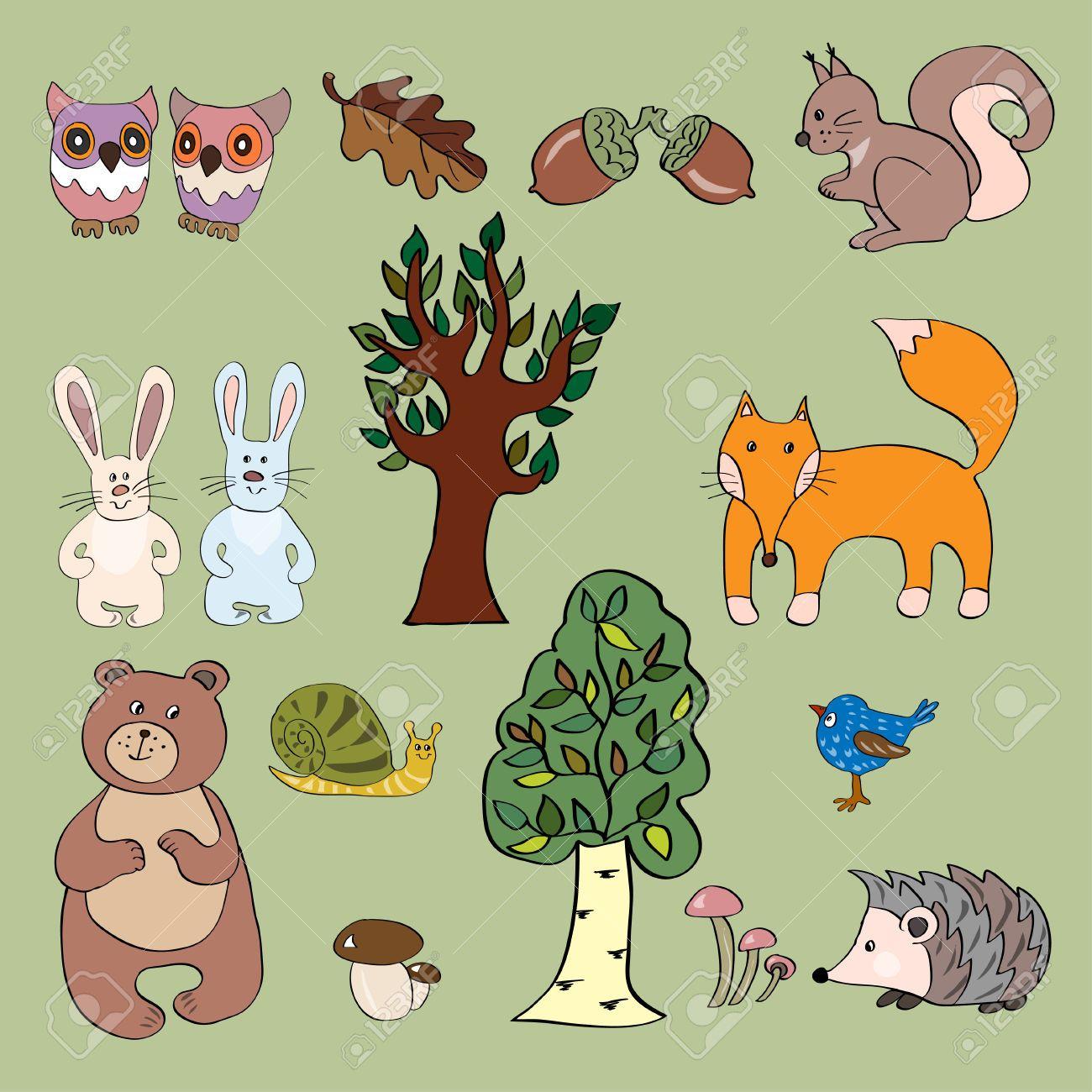 Imagini pentru erdei állatok | erdő lakói | Pinterest | Searching