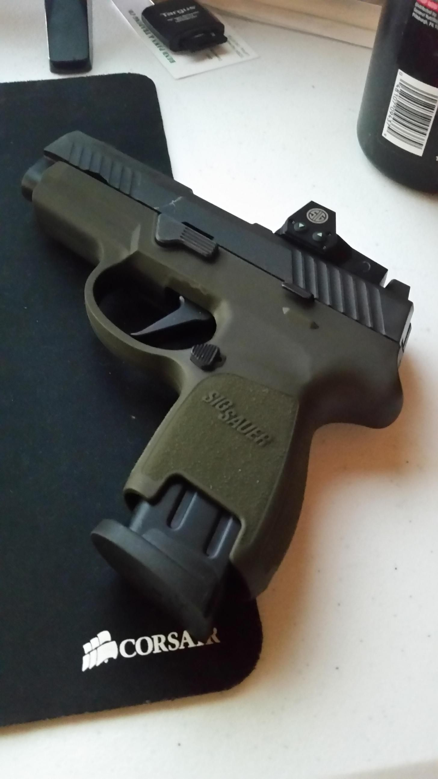 P320 RX Subcompact FDE - Album on Imgur | Firearms