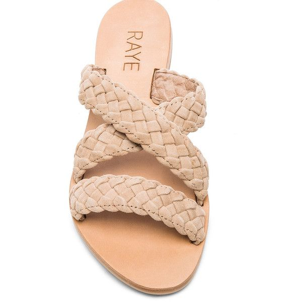 90e9c84327e7 Raye Sahara Sandal Nude ( 155) ❤ liked on Polyvore featuring shoes ...