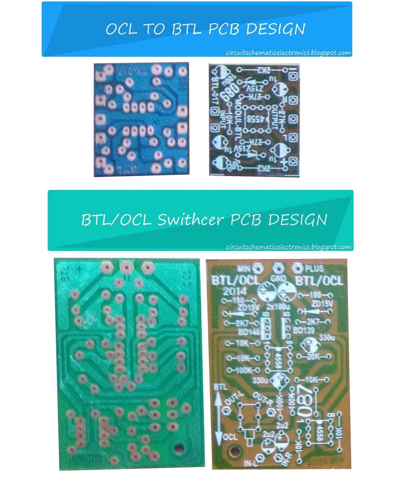 BTL OCL power amplifier input output | schémy | Pinterest