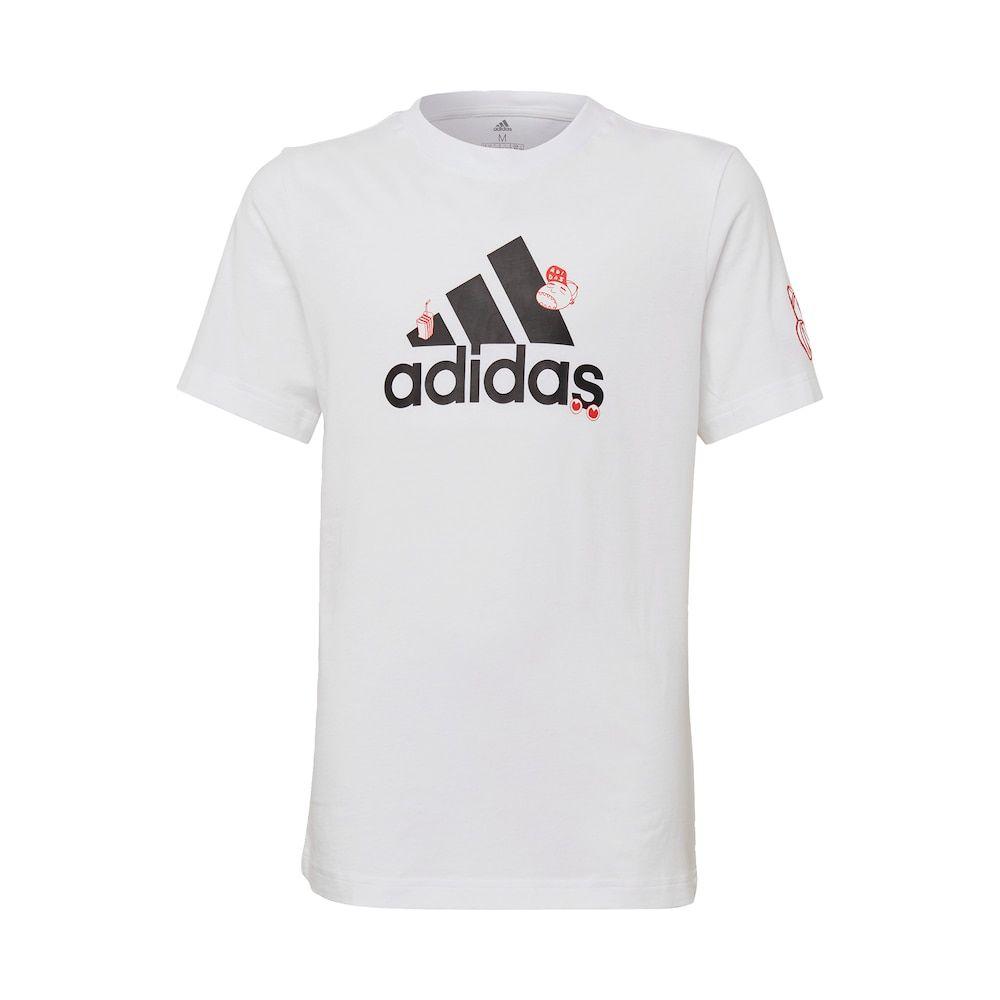 Adidas Performance T Shirt Jungen Weiss Rot Schwarz Grosse 134 In 2020 Shirts Rot Schwarz Und T Shirt