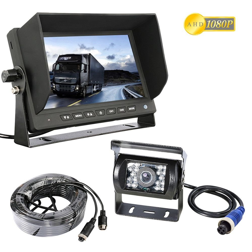 Sony Ccd Car Backup Reversing Cam Reverse Rear View Camera For Trucks Bus Trailer Rv With Hd Monitor Ahd 1080p Rear View Camera Car Camera Caravan Van