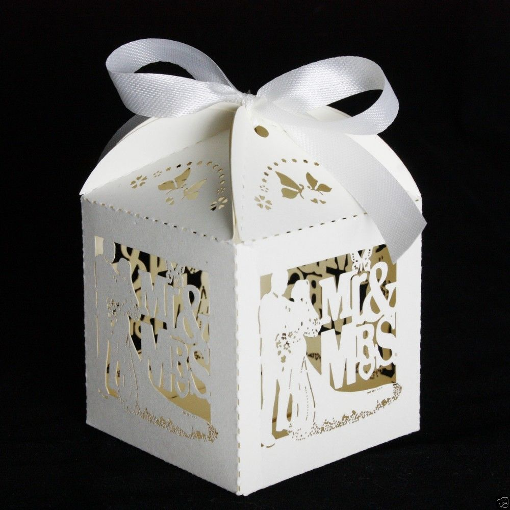 NEW - Luxury Wedding Sweets Favour Boxes Wedding Favours Table ...