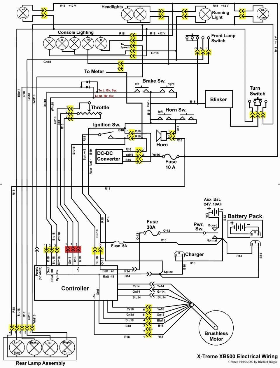 48v Electric Scooter Wiring Diagram And Unique Razor Electric Scooter Wiring Diagram Racemaster Razor Scooter Electric Scooter Design Electric Scooter
