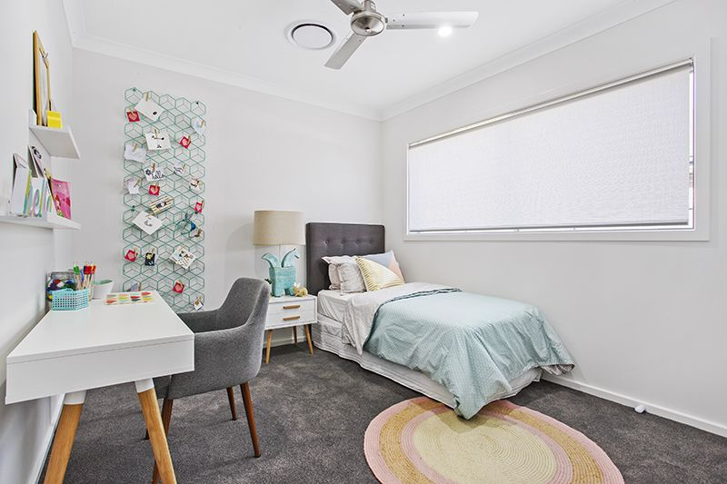 The Amity Display Home In Elara Estate Marsden Park Nsw By Adenbrook Homes Gorgeous Kids Bedroom Home Display Homes New Home Builders