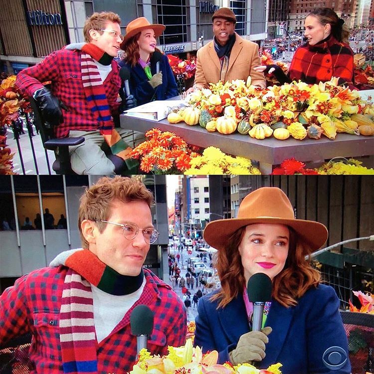 Ncisla S Instagram Loved Seeing Reneefelices In 2020 Thanksgiving Day Parade Ncis Los Angeles Thanksgiving Day