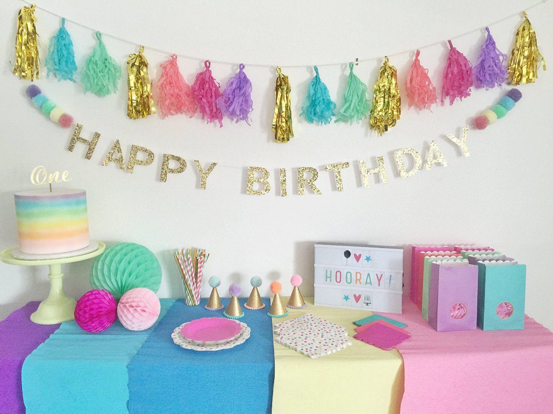 Amazon Premium Happy Birthday Banner