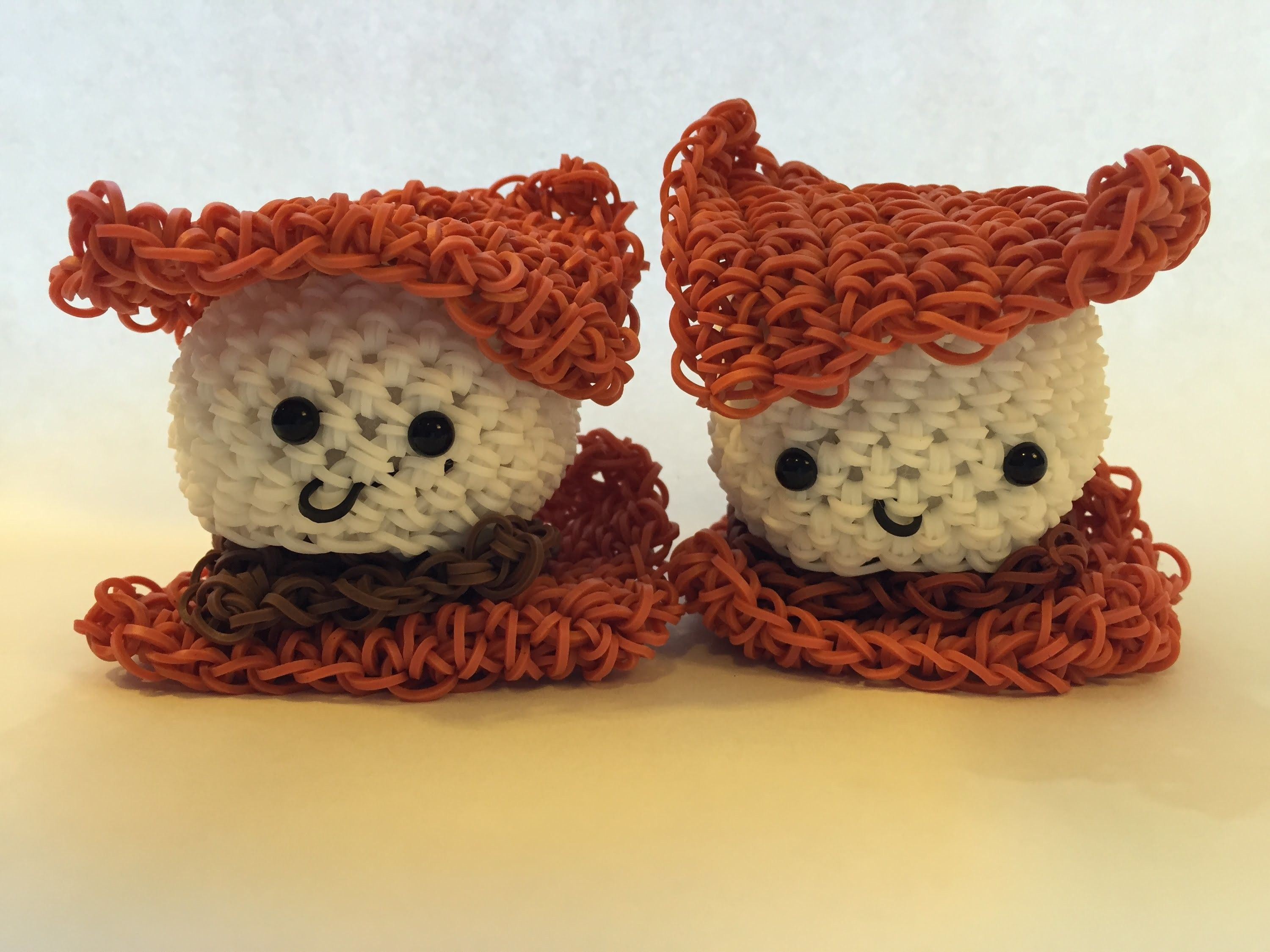 Amigurumi Loom Patterns : Smores tutorial rainbow loom kawaii loomigurumi.amigurumi hook only