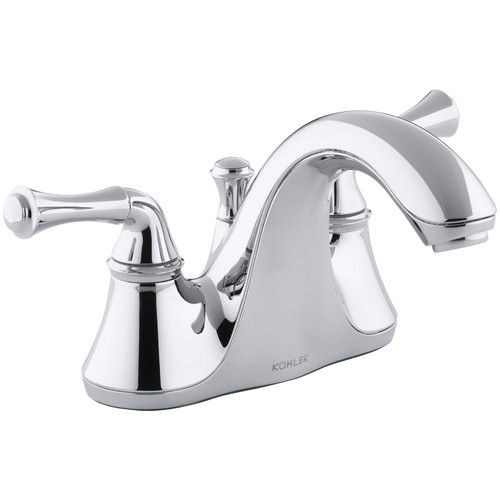 Found it at Wayfair - Forté Centerset Bathroom Sink Faucet with Traditional Lever Handles