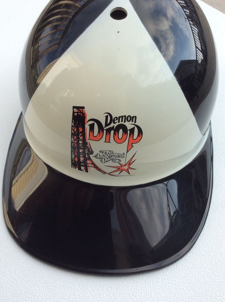 Vintage Demon Drop Cedar Point Adjustable Hard Hat #fashion