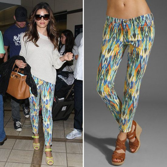 love these pants; they look so fab on her and how she paired it up LOVE!