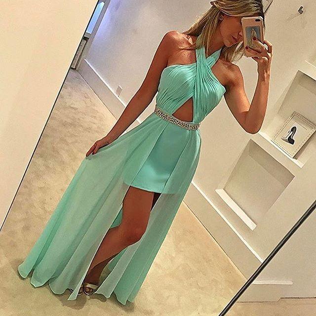 #vestido #vestidos #vestidodefesta #vestidolongo #vestidoazul #vestidoverde #vestidodemadrinha #vestidodeformatura #vestidodeluxo #dress #dresses #luxurydress #bluedress #greendress