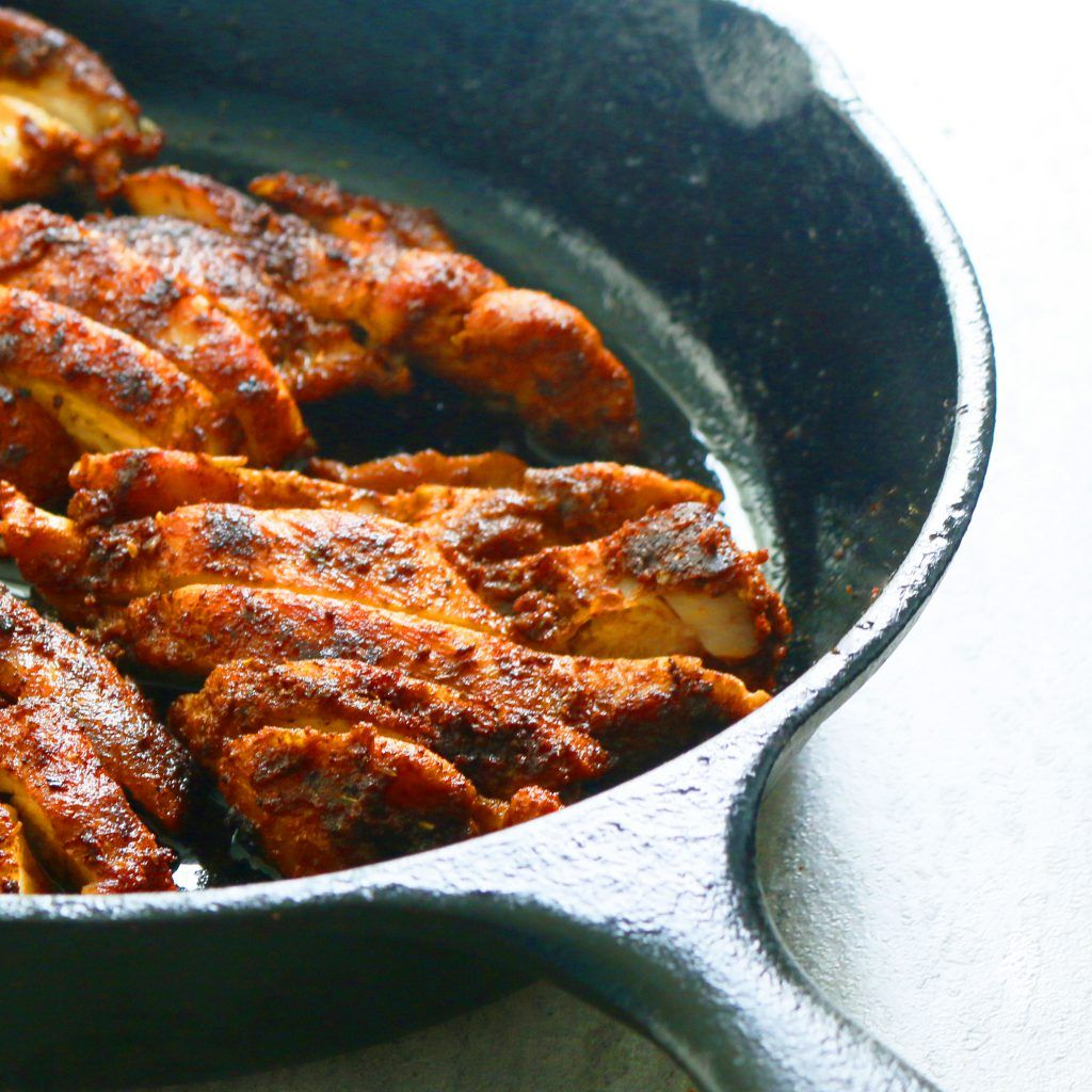 Mexican Spiced Chicken Thighs: Mexican Spiced Chicken For Tacos, Burritos, Quesadillas Or