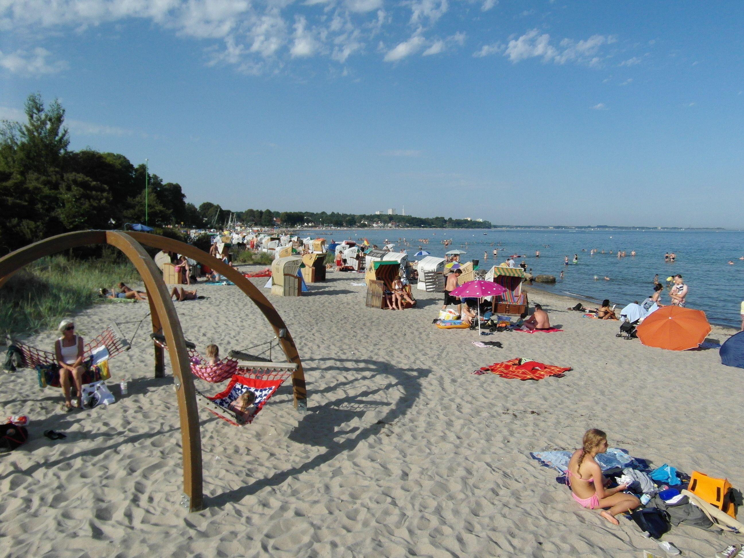 Der wunderbare Strand der Ostsee - Scharbeutz http://www.ostseeurlaub-mit-stil.com