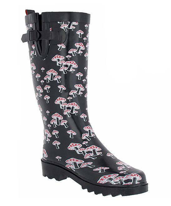 ce1392e91 Mushoom Rain Boots 💖 | Get on my Feet in 2019 | Rain boots, Boots ...