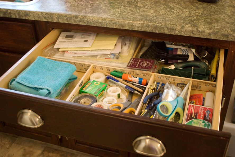 Diy Drawer Organizer No Tools Required With Images Diy