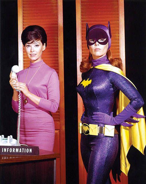Yvonne Craig / Barbara Gordon / Batgirl. Three in one. And that's it.