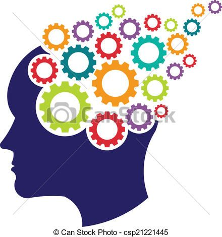 concept of brain with gears logo csp21221445 head and mind rh pinterest com convert eps to vector graphics eps vector graphics free
