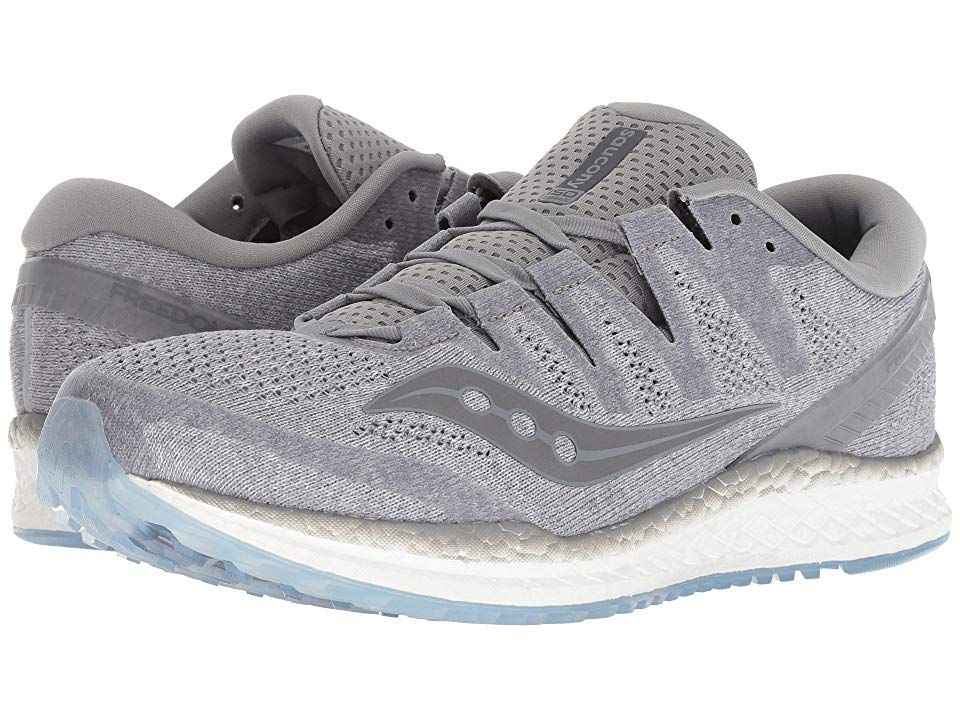 Saucony Freedom Iso2 Grey Men S Running Shoes Go Twice As Far And Get Twice As Much Done In The Dynamic S Running Shoes For Men Womens Running Shoes Saucony