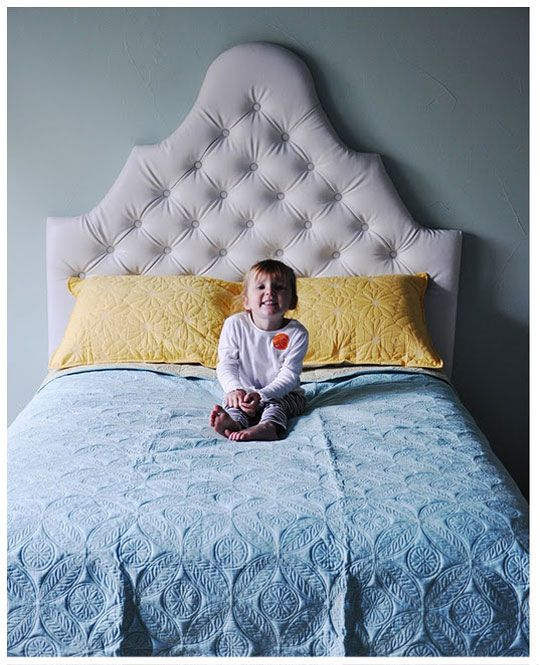 Make your own tufted headboard things i will eventually - Make your own headboard ...