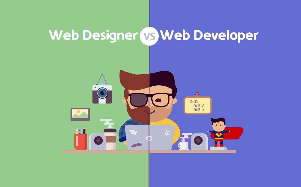 What Is The Difference Between Web Design And Web Development When I Started My Career As The Software Developer I Was Confused Between The Web Development And