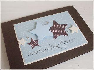 Carolas Bastelstübchen: Weihnachten                                                                                                                                                      Mehr #stampmaking