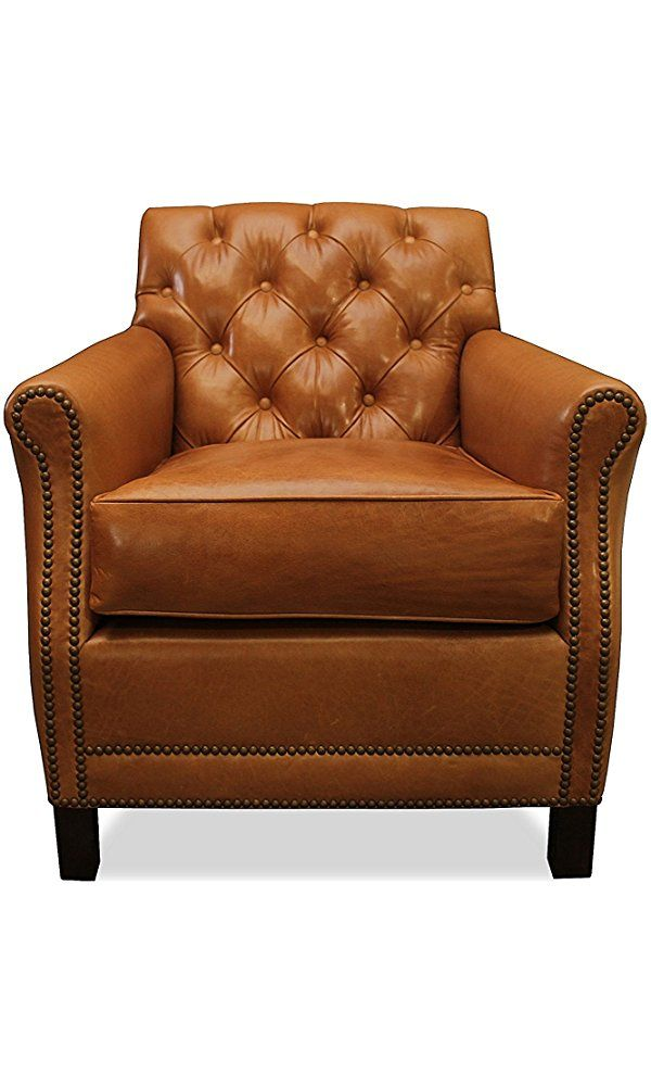 Astonishing South Cone Home Lauren Leather Accent Chair Caramel Best Ibusinesslaw Wood Chair Design Ideas Ibusinesslaworg