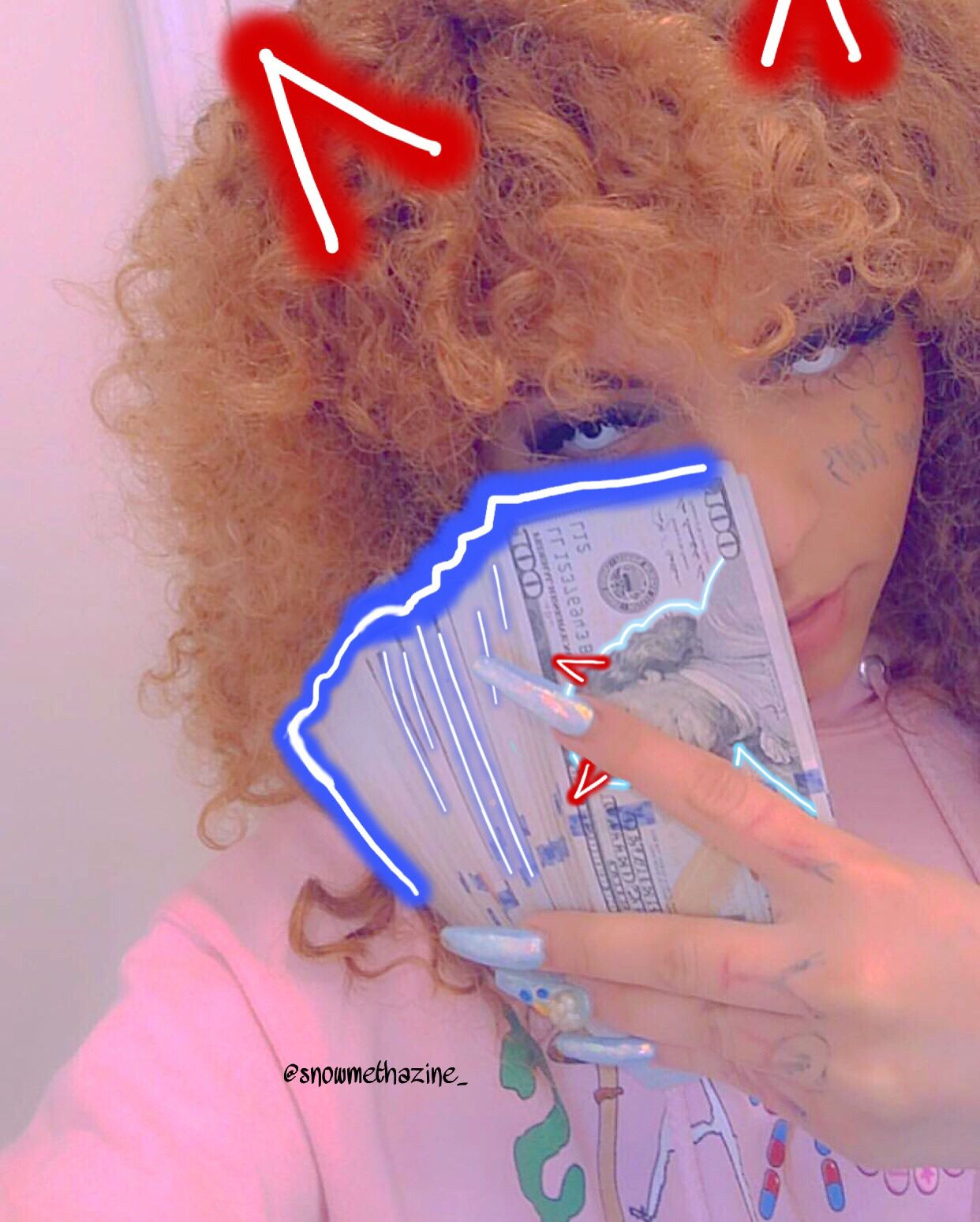 Pin Ayleksfr Rapper Wallpaper Iphone Gangster Girl