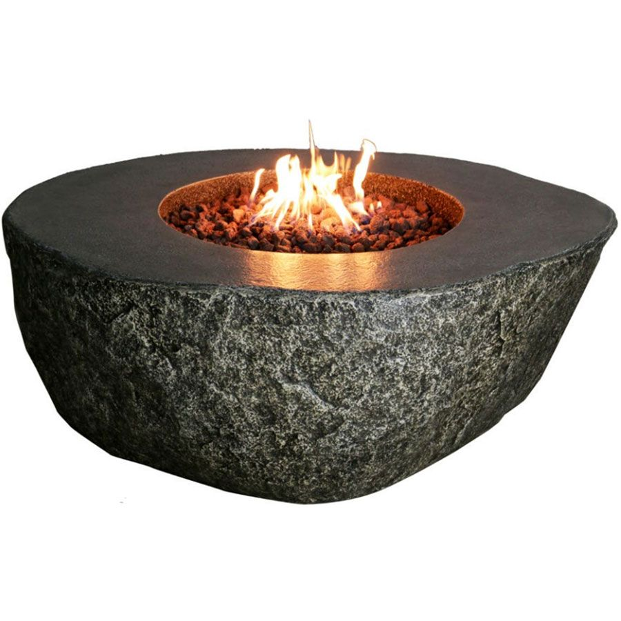 The Burning Rock Fire Pit Is A Dramatic Landscape Feature Crafted