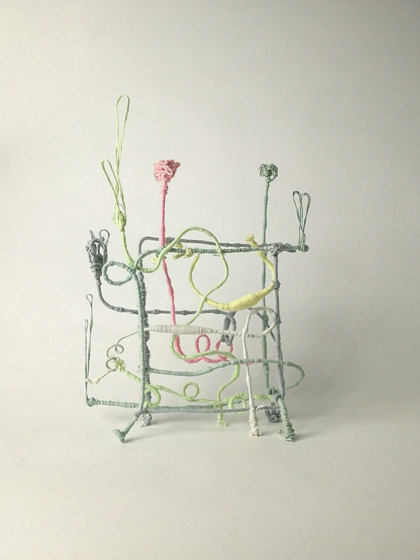 Lana su ferro, contemporaryart, scultura, andrea viviani