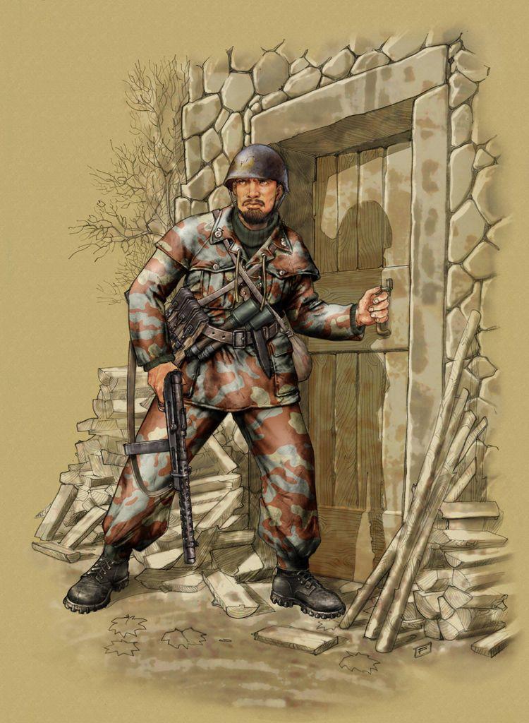 """R.S.I - Paracadutista del Battaglione """"Lupo"""", Divisione autonoma X-MAS"""