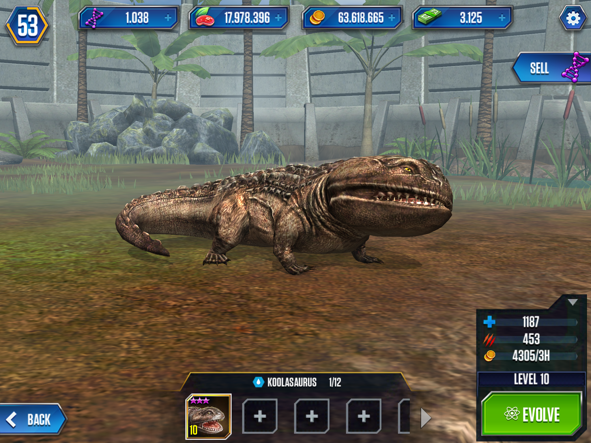 Koolasaurus, a hybrid of Koolasuchus and Sarcosuchus from