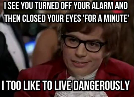 Some People Like To Live On The Edge Funny P Funny Memes Legal Humor