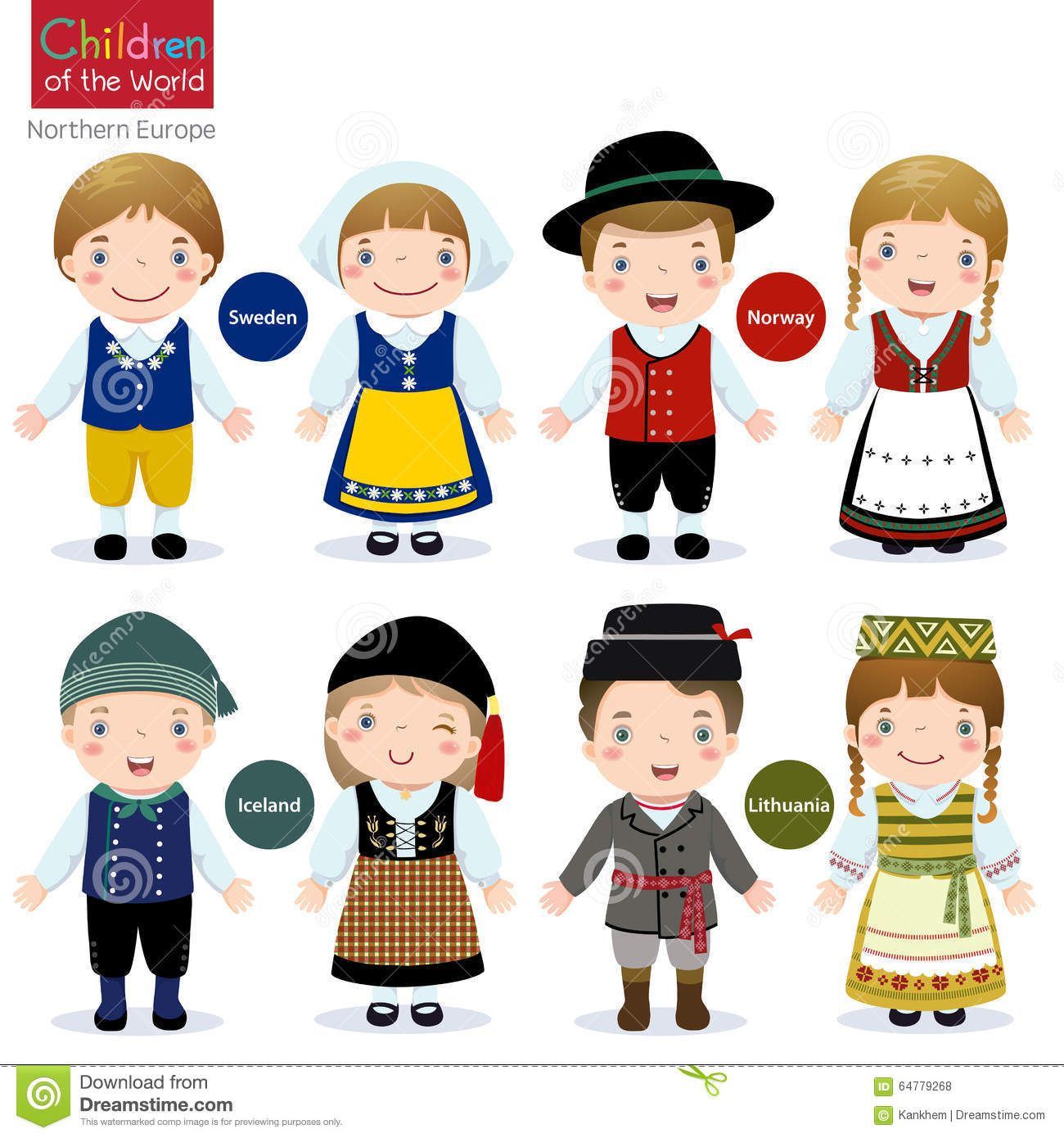 Children Of The World Sweden Norway Iceland And