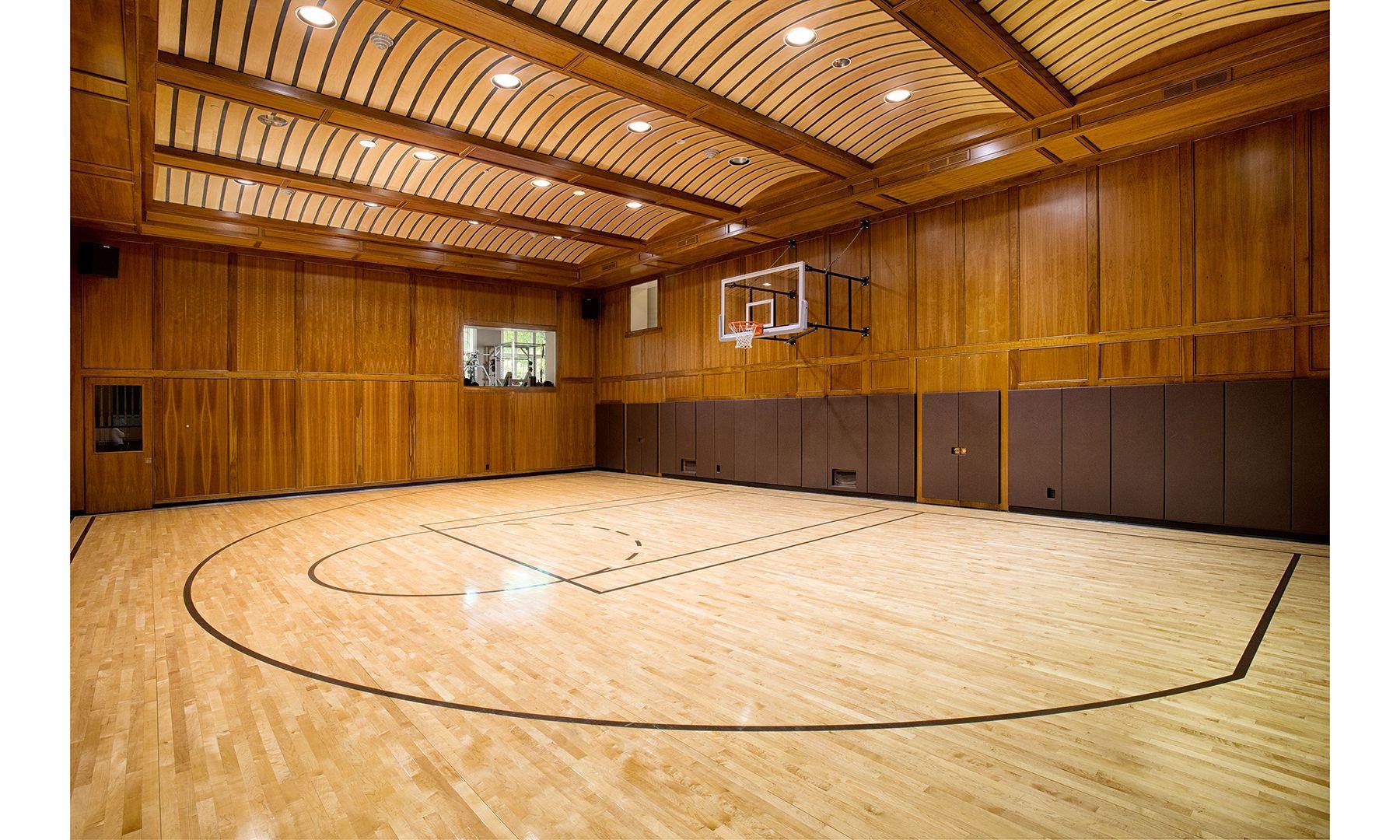 Conyers Farm Estate Dujour Basketball Court Flooring Home Basketball Court Basketball Court