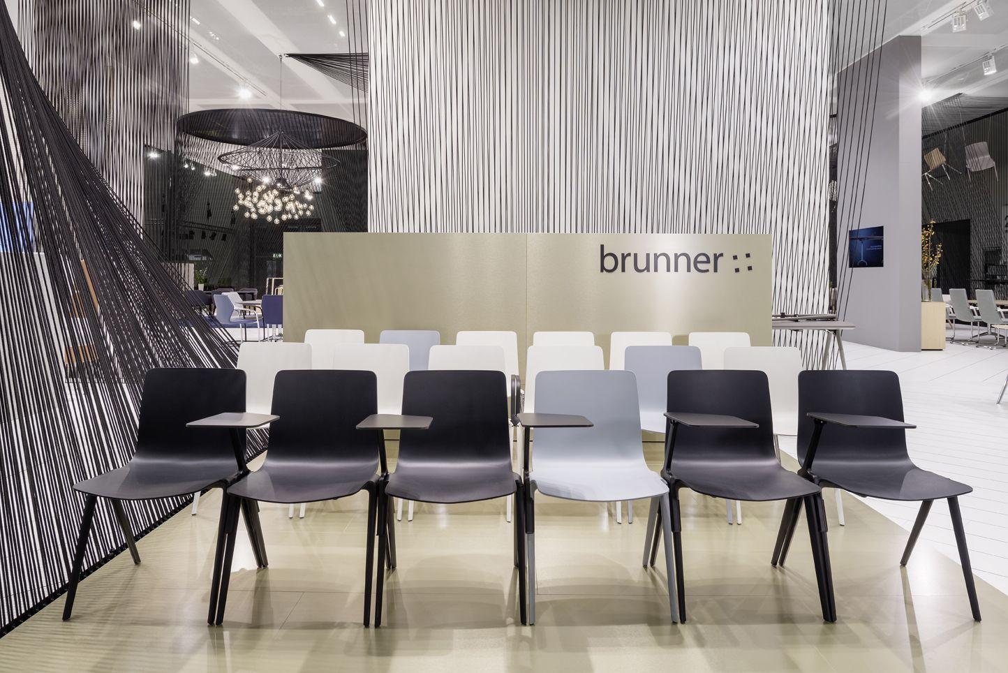 Brunner A-Chair at Orgatec 2014 Cologne http://www.brunner-group.com ...