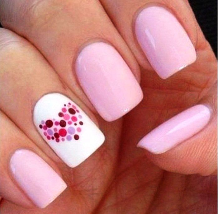 Short nail designs do it yourself for beginners easy nail 40 simple nail designs for short nails without nail art tools page prinsesfo Images