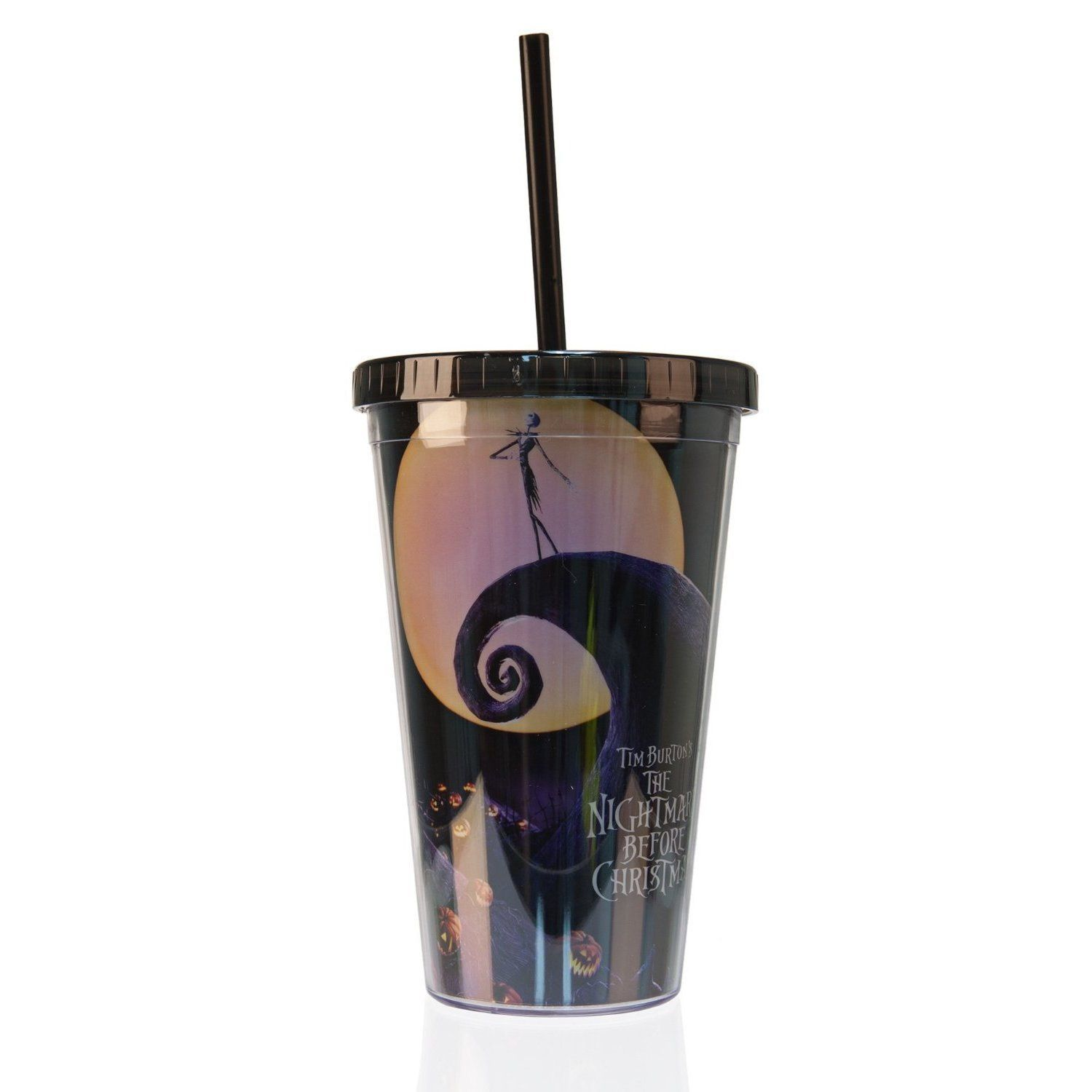 The Nightmare Before Christmas Acrylic Travel Tumbler | Traveling ...