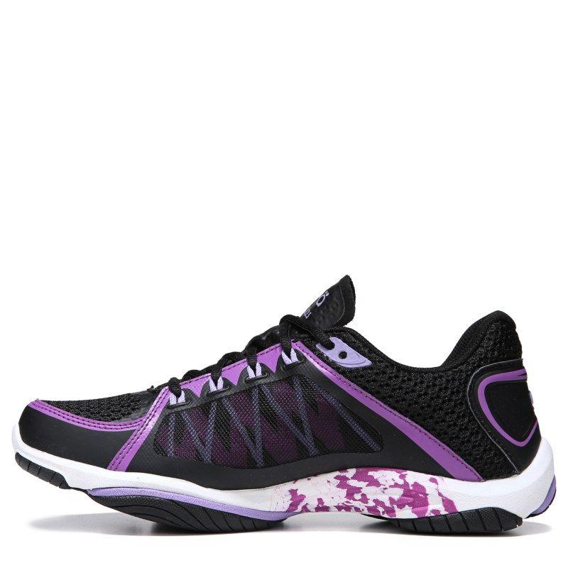 Ryka Women s Influence 2.5 Medium Wide Training Shoes (Black Plum Purple) -  5.5 M ff9f3a9b0