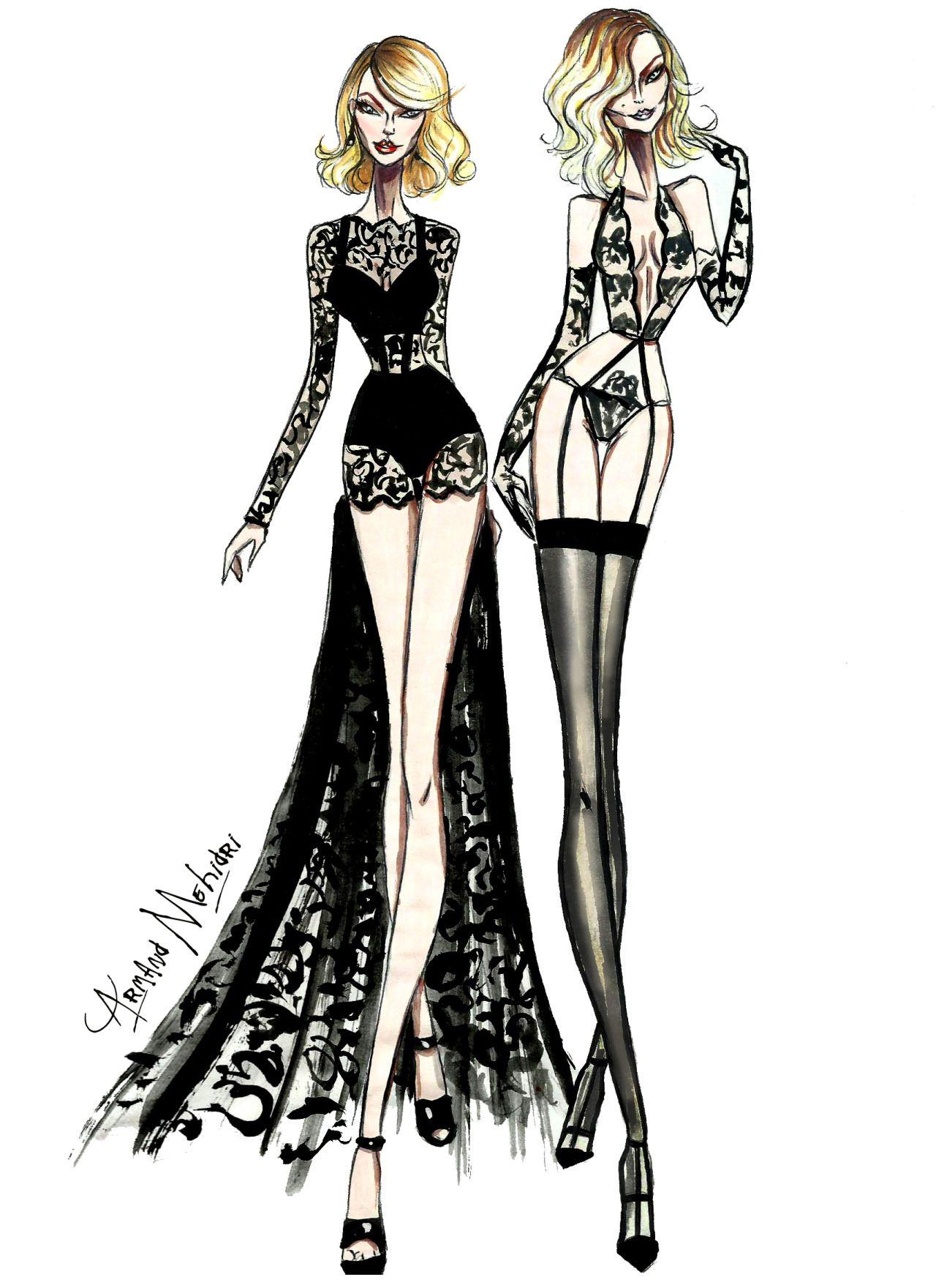 Taylor Swift & Karlie Kloss - by Armand Mehidri