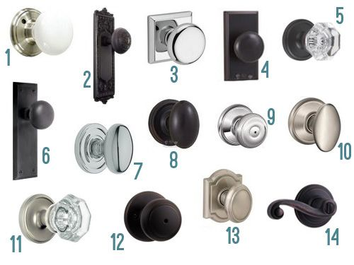 Fourteen New Interior Door Knob Options Interior Door