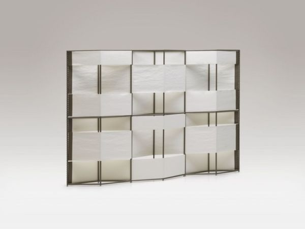 white layer partition room