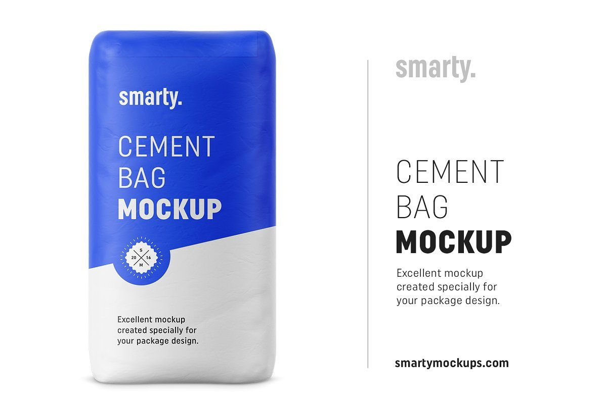 Download Cement Bag Mockup Bag Mockup Mockup Cement