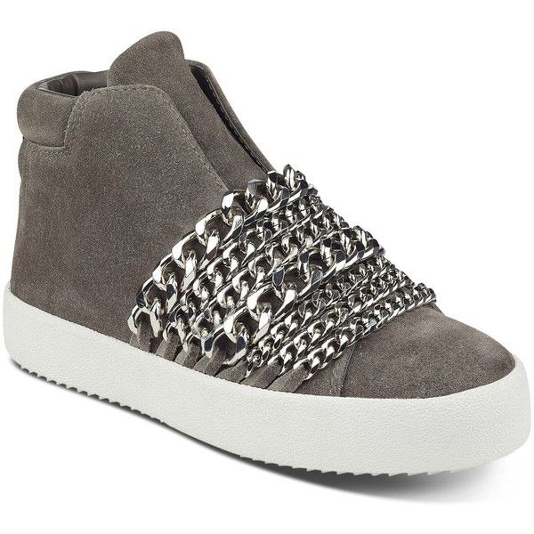 Kendall And Kylie Women's Duke Suede & Chain Trim Sneakers vzcrHwnr